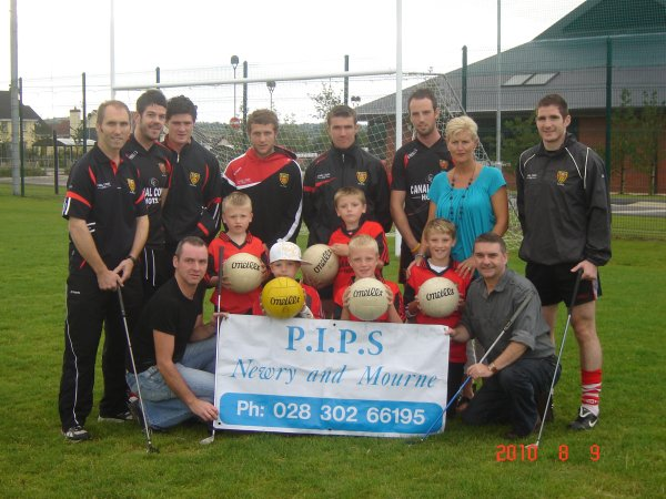 Down GAA All Ireland Semi-finalists support PIPS Newry & Mourne